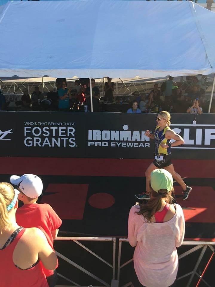 ironman Arizona finish line