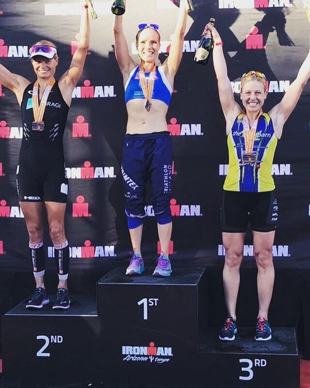 ironman arizona podium